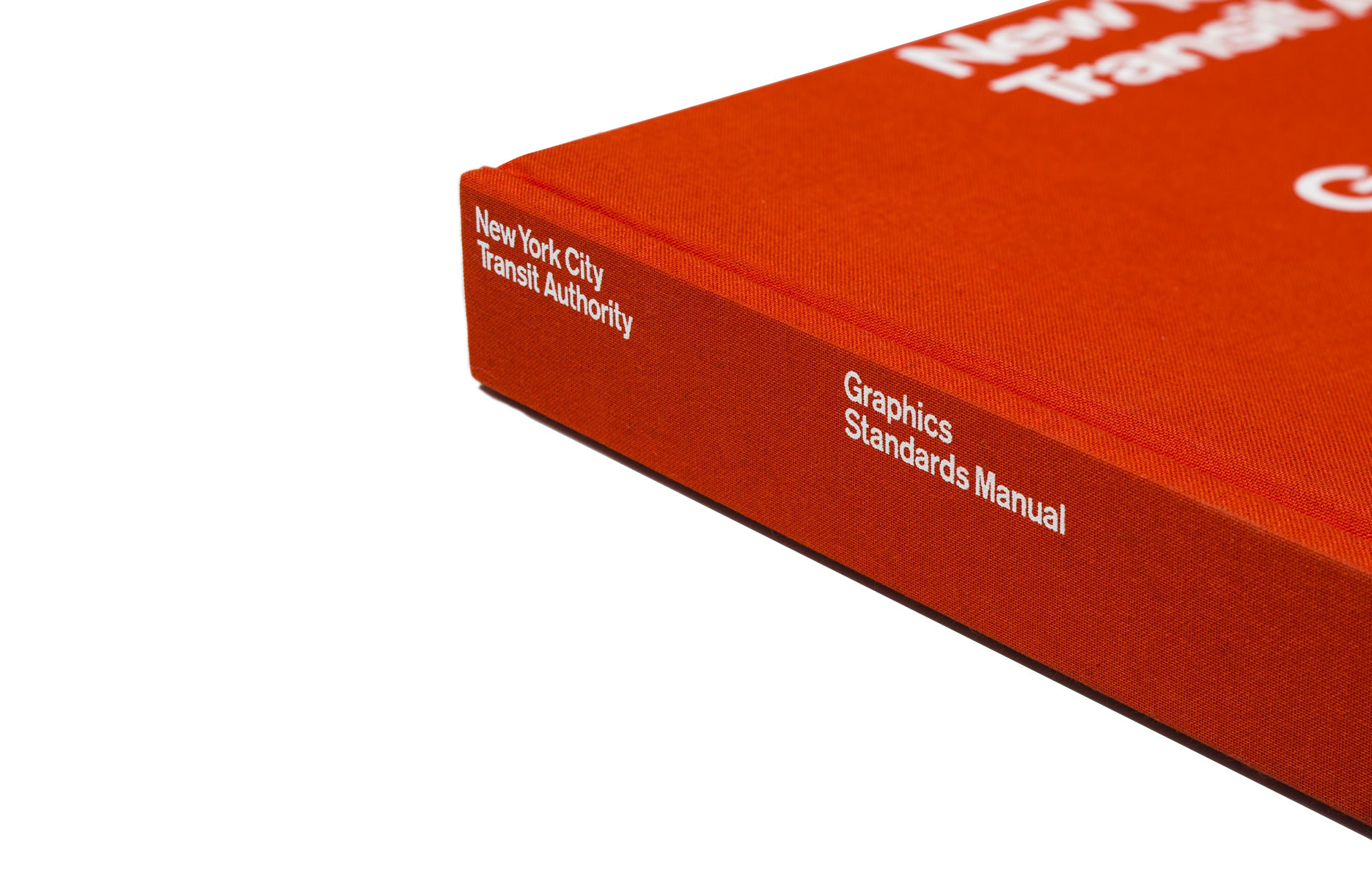 The NYCTA GraphicsStandards Manual reissue