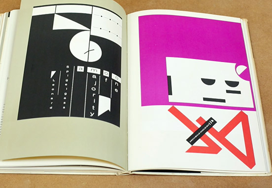 Book cover designs from Designers' and Books Kickstarter campaign video