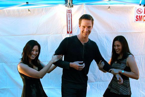 Monica, Jason and Lillian